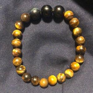 Jewelry - Handmade Tiger Eye/ Blue Tiger Eye bracelet